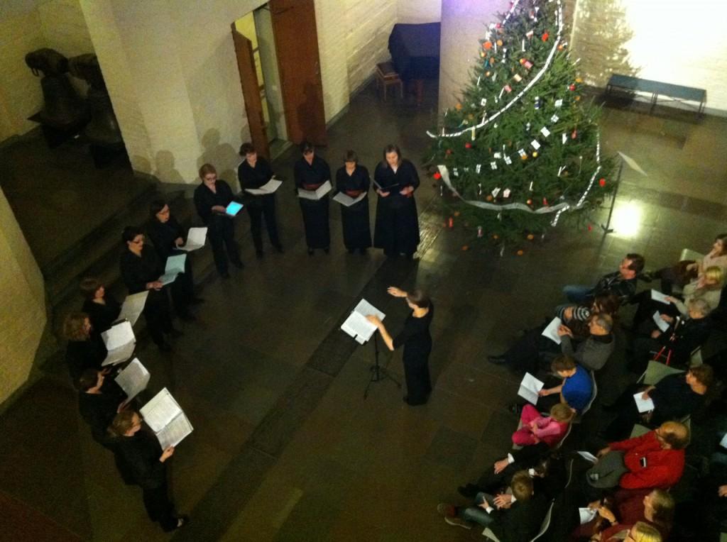 Kaari-ensemblen joulukonsertti 8.12.2013