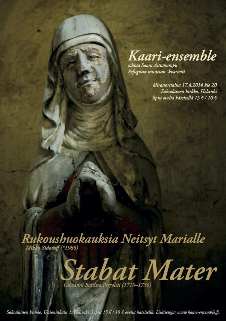 Kaari-ensemble: Stabat Mater 2014