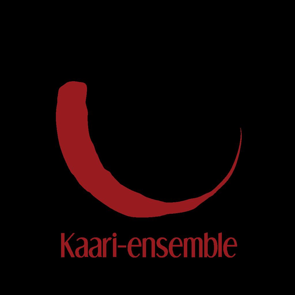 Kaari-ensemblen logo punaisena