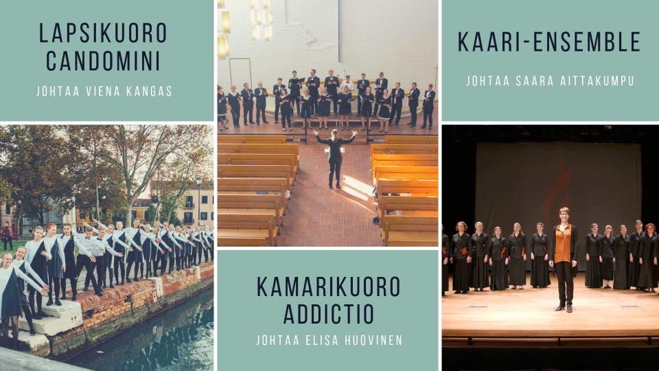 Suomen kuoronjohtajayhdistyksen talvipäivien konsertti 9.2.2019